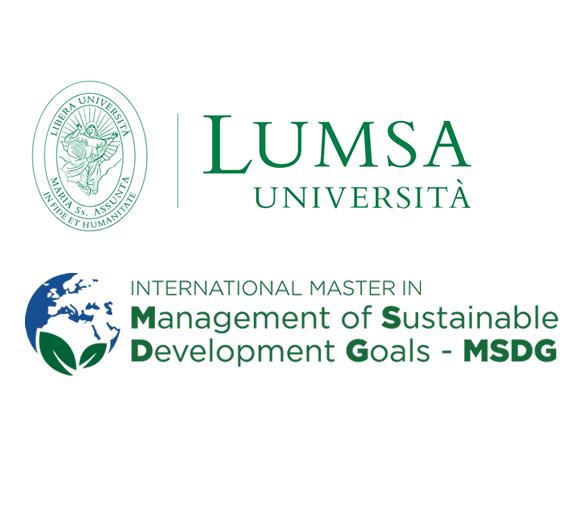 Master School dell'Università LUMSA di Roma per il sostegno e la collaborazione al Master in management degli SDGs